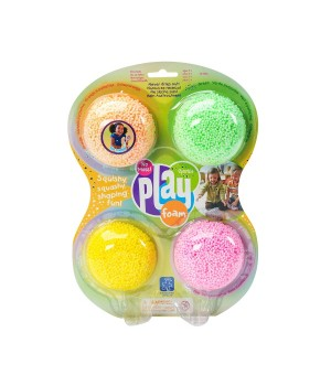 Набор шарикового пластилина EDUCATIONAL INSIGHTS - БЛЕСТКИ (4 цвета)