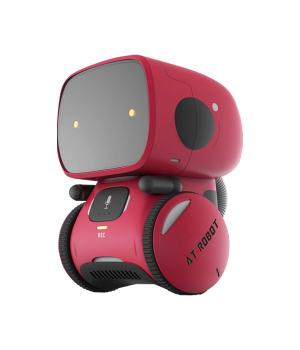 Интерактивный Робот С Голосовым Управлением - AT-Robot (Красный)