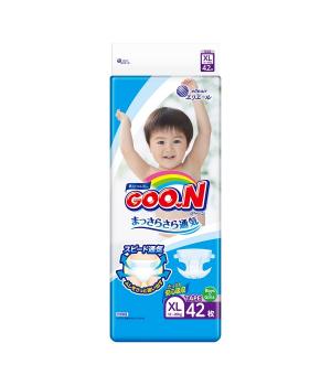 Подгузники Goo.N для детей коллекция 2020 (XL,12-20 кг)
