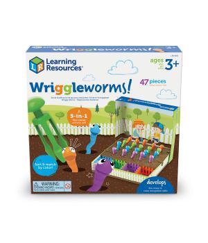 Обучающий игровой набор-сортер Learning Resources - Поймай червячка