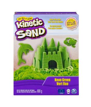 Песок Для Детского Творчества - Kinetic Sand Color (Зеленый)