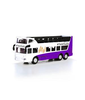 Двухэтажный автобус игрушка Львов, Технопарк