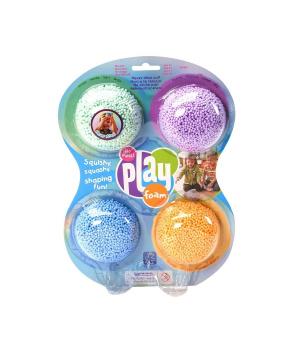 Набор шариковый пластилин EDUCATIONAL INSIGHTS - МОРСКОЙ БРИЗ (4 цвета)