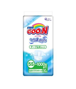 Подгузники Goo.N Для Маловесных Новорожденных (Sssss, До 1 Кг)