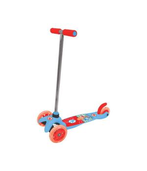 Скутер лицензионный - ФИКСИКИ (3-х колесный, 2 колеса впереди, тормоз)