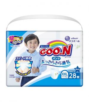 Трусики-подгузники Goo.N для мальчиков коллекция 2020 (XXL, 13-25 кг)
