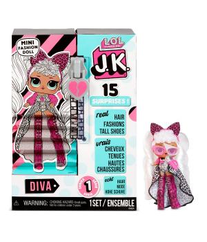 """Игровой набор с куклой L.O.L. SURPRISE! серии """"J.K."""" - ДИВА"""