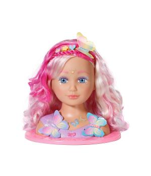 Кукла для причесок манекен BABY BORN - СЕСТРИЧКА-ФЕЯ (с аксессуарами)