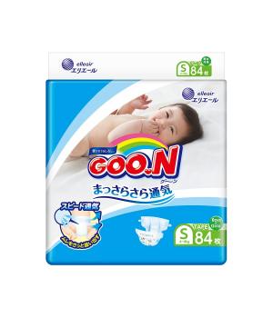 Подгузники Goo.N для детей коллекция 2020 (S, 4-8 кг)
