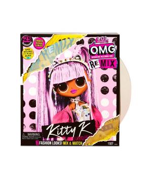 """Игровой набор с куклой L.O.L. SURPRISE! серии """"O.M.G. Remix"""" - КОРОЛЕВА КИТТИ"""