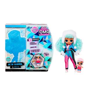 """Игровой набор с куклой L.O.L. SURPRISE! серии """"O.M.G Winter Chill"""" – ЛЕДЯНАЯ ЛЕДИ"""
