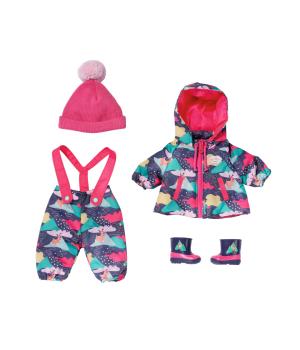 "Набор одежды для куклы BABY BORN серии ""Deluxe"" - СНЕЖНАЯ ЗИМА (куртка, штаны, шапочка, сапожки)"