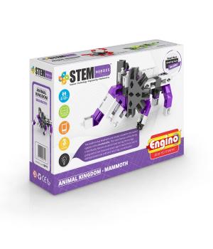 Детский Конструктор серии STEM HEROES - Царство животных: мамонт