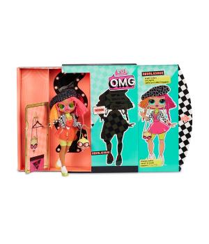 """Игровой набор с куклой L.O.L. SURPRISE! серии """"O.M.G."""" - ЛЕДИ-НЕОН (с аксессуарами)"""