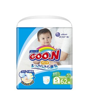 Трусики-Подгузники Goo.N Для Активных Детей (S, 4-9 Кг)