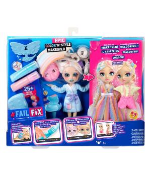 Игровой набор с куклой FAILFIX - ЭПИЧНОЕ ПЕРЕВОПЛОЩЕНИЕ
