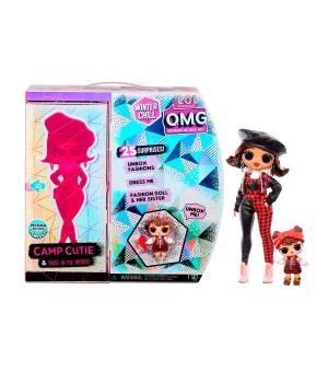 """Игровой набор с куклой L.O.L. SURPRISE! серии """"O.M.G Winter Chill"""" – ОЧАРОВАШКА"""