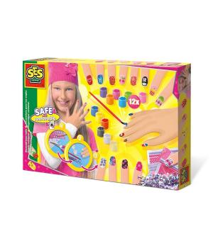Игровой детский набор для маникюра для девочки - Модница