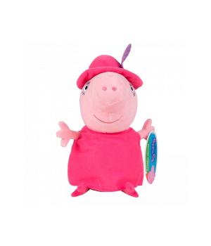 Мягкая игрушка - МАМА СВИНКА В ШЛЯПЕ (30 см)