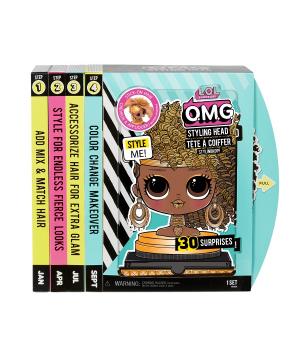 """Кукла для причесок манекен ЛОЛ L.O.L SURPRISE! серии """"O.M.G."""" - КОРОЛЕВА ПЧЕЛКА (с аксессуарами)"""
