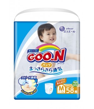 Трусики-Подгузники Goo.N Для Детей (M, 6-12 Кг)