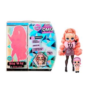 """Игровой набор с куклой L.O.L. SURPRISE! серии """"O.M.G Winter Chill"""" - ЛЕДІ-СТАЙЛ"""