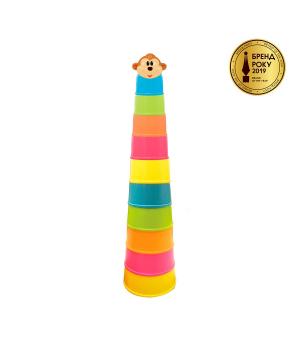 Игровой набор пирамидка для детей - Мартышкина