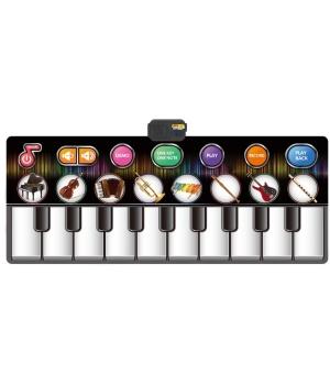 Музыкальный коврик пианино, танцевальный для детей от 3 лет