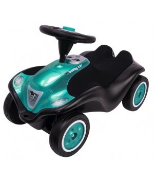 Машина толокар для детей, черная, Некст, от 1 года, BIG