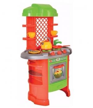 """Игрушечная кухня для девочек с посудкой, """"ТехноК"""" 0847"""