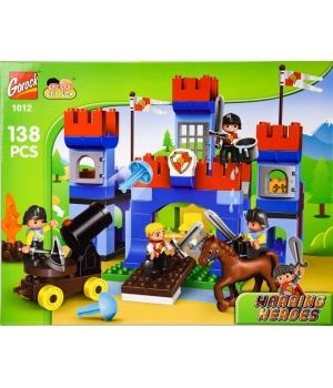 Детский конструктор замок, 138 деталей