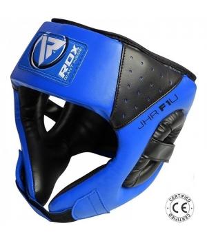 Шлем боксерский детский, синий, RDX