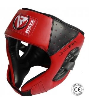 Шлем боксерский детский, красный, RDX