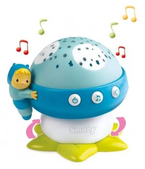 Музыкальный детский проектор, лесной грибочек, Cotoons