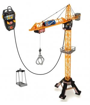Іграшковий будівельний мега кран Стріла на пульті керування, 120 см, Dickie Toys