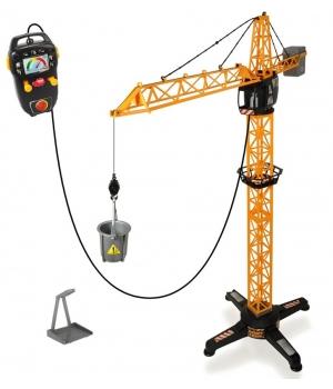 Підйомний кран іграшковий, 100 см, на дистанційному керуванні, Dickie Toys