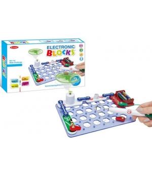 Конструктор электронный для детей от 8 лет, 17 элементов