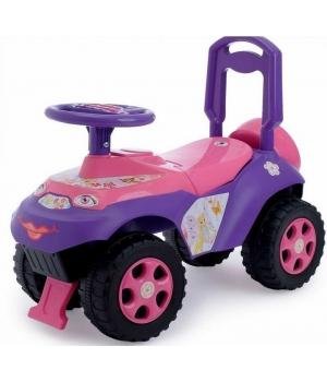 Толокар машинка-каталка, (укр.озвучка), Doloni Toys
