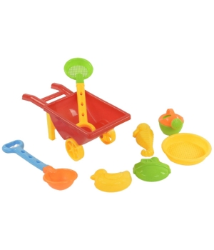 """Детская тачка для песка с игровым набором """"Beach Toys"""" 815B"""