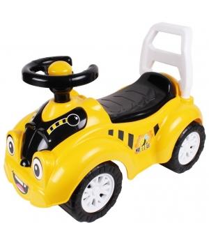Детская машинка толокар каталка, со спинкой, Технок