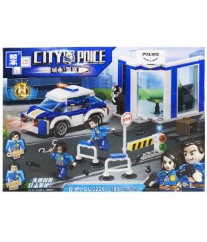 """Конструктор полицейский автомобиль """"City Police - Полиция"""" QL0226"""