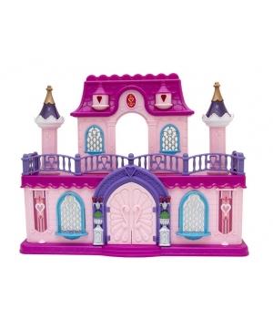 Домик кукольный Замок Кристальный Палац (куколки,мебель,аксессуары)