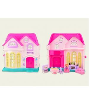 Кукольный дом с мебелью, аксессуары