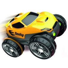 Машинка к гибкому треку Флекстрим, желтая, Flextreme Smoby