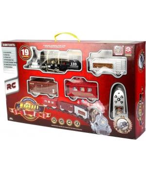 Железная дорога на пульте управления с дымом, 3054