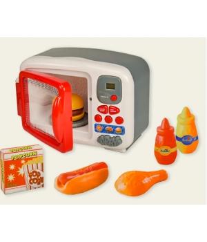 Микроволновая печь детская на батарейках (свет,звук)
