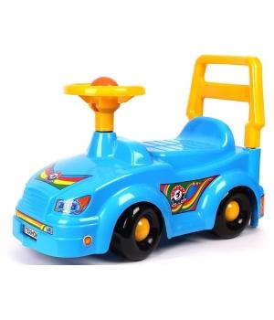 Детская машинка каталка толокар, синий, для мальчика, Технок