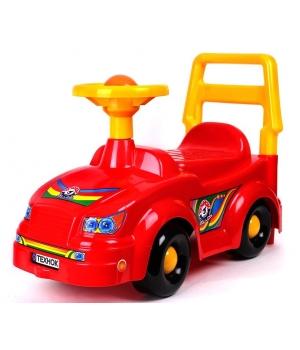 Машинка толокар для мальчика, красный, Технок