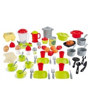"""Игрушечная посуда в наборе """"Шеф-повар"""", 70 элементов, Ecoiffier"""