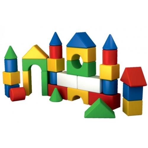 Конструктор для маленьких детей, геометрические фигуры, Технок